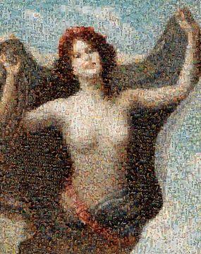Mosaik Aphrodite, otto lingner - 1892