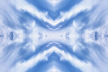 Wolken formatie van Jan Brons