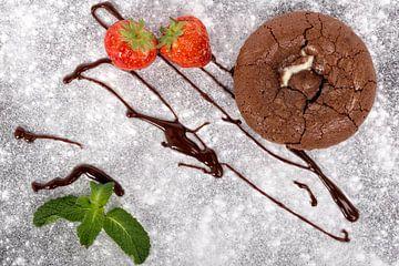 Chocolade soufflé van