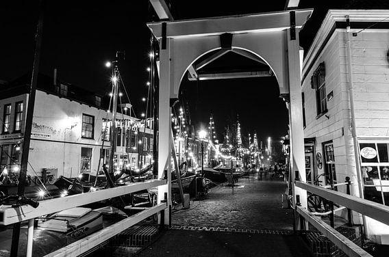 Veerstraat brug Maassluis van Maurice Verschuur