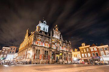 Das alte Rathaus, Delft von Michael Fousert