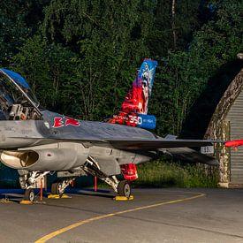 80-jarig Jubileum van het 350 Squadron van de Belgische Luchtmacht wordt  gevierd met speciaal besch van Jaap van den Berg