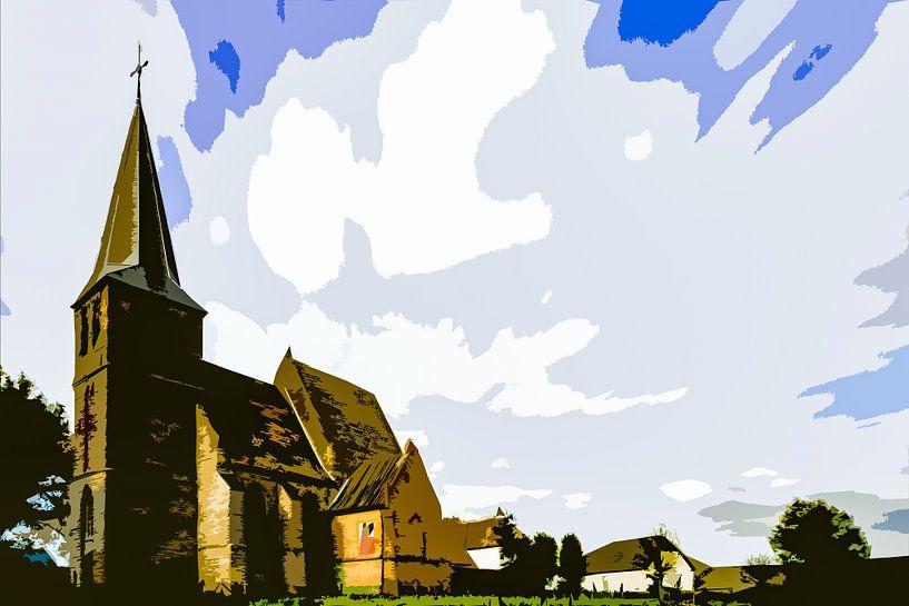 Kerkje van Persingen van Maerten Prins