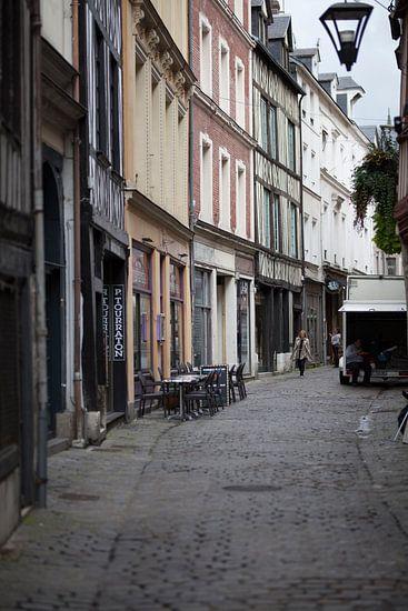 Straatleven Rouen