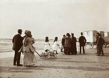 Entlang der Flutlinie in Zandvoort, Knackstedt & Näther, 1900 - 1905