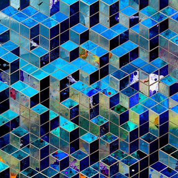 Cube city von Andreas Wemmje
