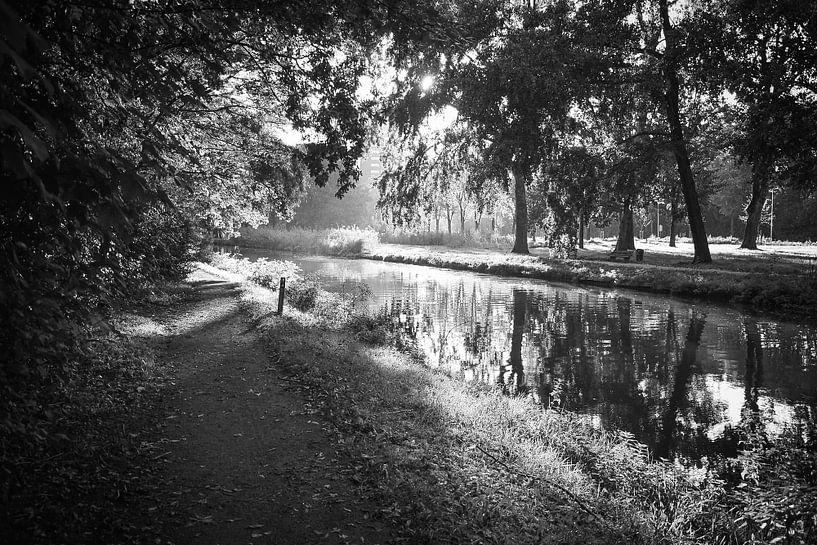 A walk on the river (Kromme Rijn, Utrecht) van Alessia Peviani