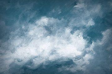 Hedgerow II-wolken, Julia Purinton van Wild Apple