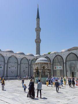 Blaue Moschee, Istanbul von Niels Maljaars