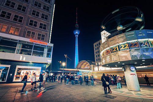 Berlin – Alexanderplatz van Alexander Voss