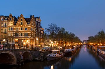 Het mooiste plekje in Amsterdam? van Peter Bartelings Photography