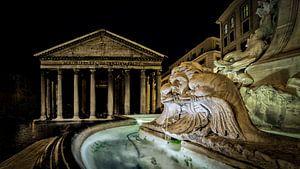 Rome - Fontana del Pantheon van