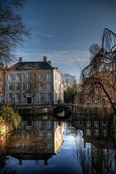 Zuidsingel en Huis Cohen in historisch Amersfoort von Watze D. de Haan