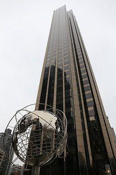 NYC Columbus Circle Globe
