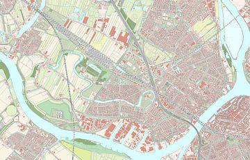 Kaart vanZwijndrecht