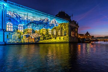 Le Bodemuseum Berlin sous un jour particulier