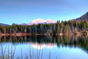 Zonnekus bergen van Roith Fotografie