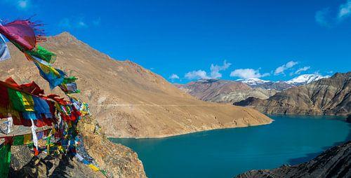 In de bergen van Tibet
