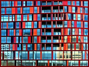 Rode hokjes Rotterdam sur Sigrid Klop