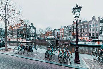 Amsterdam in de herfst 1 van Olivier Peeters