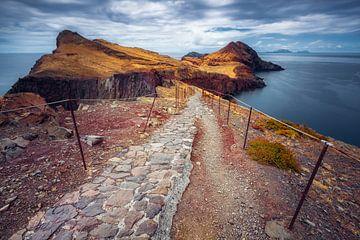 Schmaler Pfad (Ponta de São Lourenço / Madeira / Portugal) von Dirk Wiemer