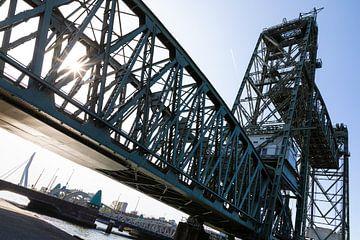 Koningshavenbrug De Hef in Rotterdam van Karin de Jonge