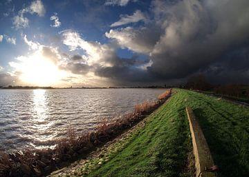 Ijsselmeerdijk nabij Monnickendam. von Teun IJff