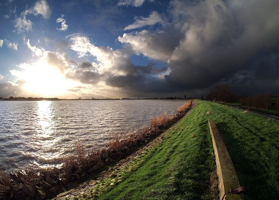 Ijsselmeerdijk nabij Monnickendam. van Teun IJff