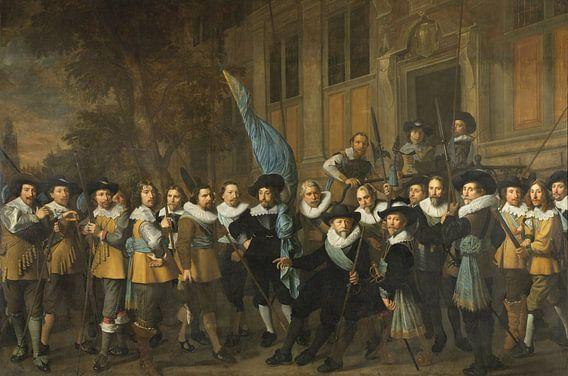Officieren en andere schutters van wijk IV in Amsterdam, Nicolaes Eliaszoon Pickenoy van Meesterlijcke Meesters