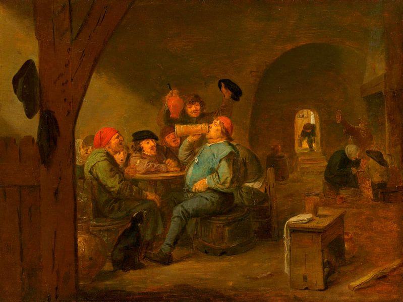Der Meistertrunk, Adriaen Brouwer von Meesterlijcke Meesters