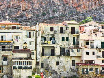Cefalu Italie van