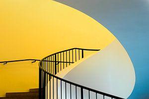 Gele trap