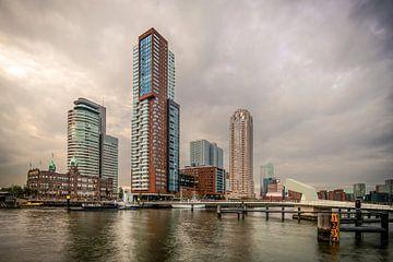 Wilhelminapier Rotterdam von Bert Buijsrogge