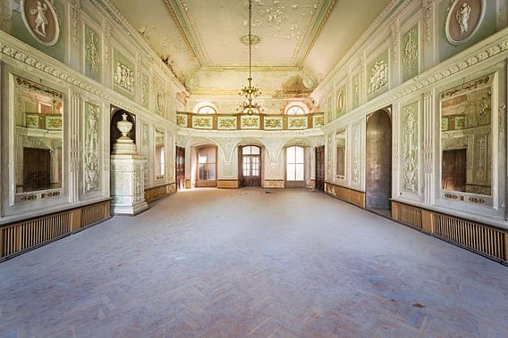 Kamer waar Gedanst werd.