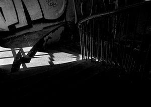 Verlassene Treppenstufen