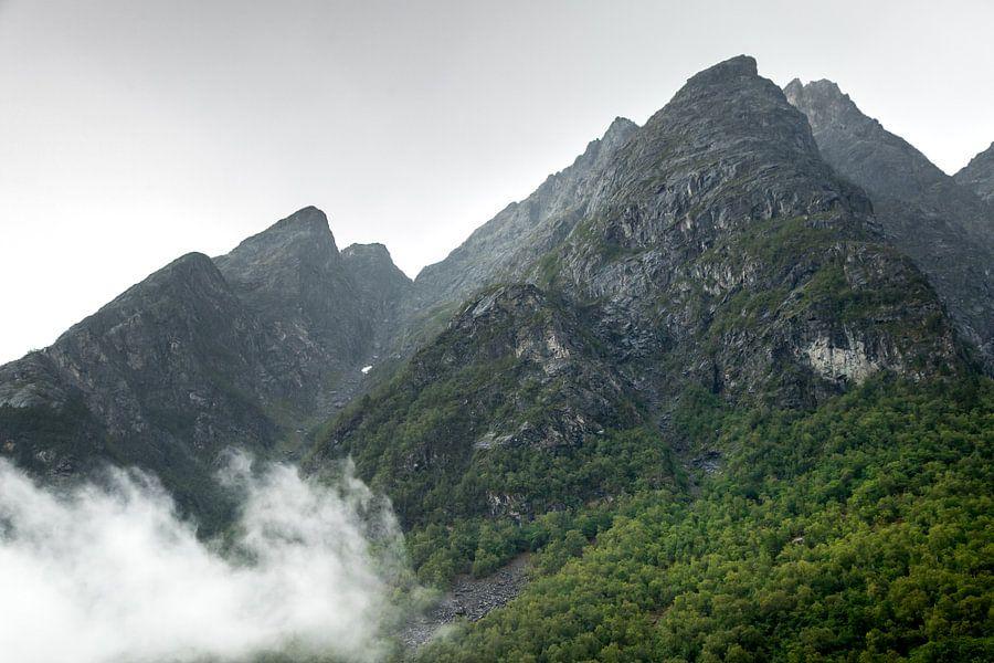 Landschap in Noorwegen