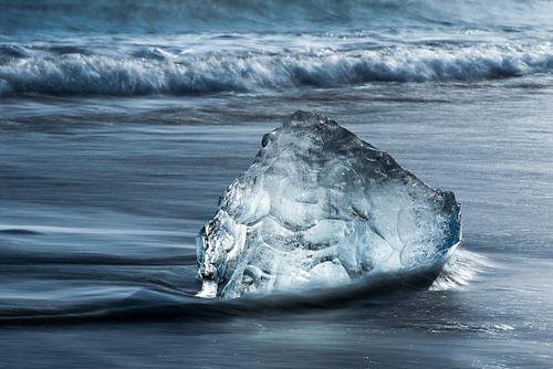 Strand Diamant bij Jokulsarlon