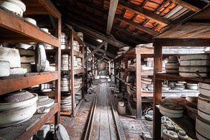 Verlassene Keramikfabrik.