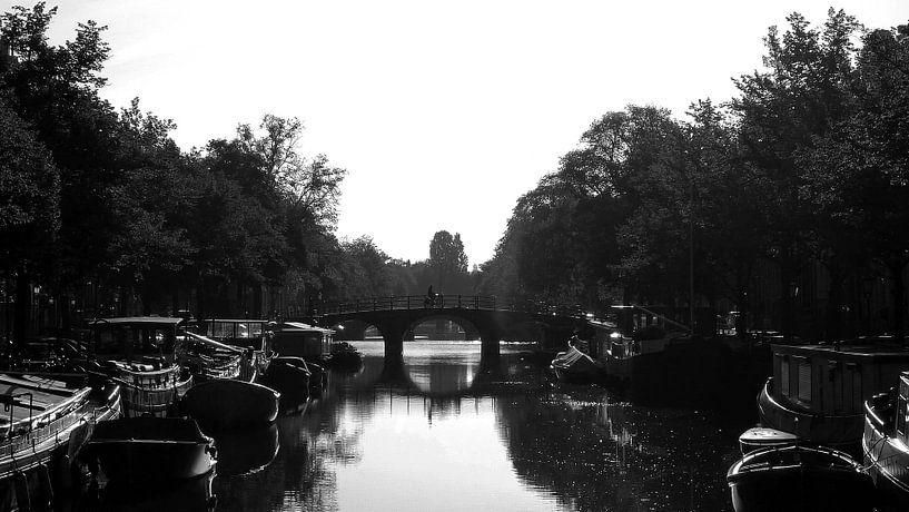 Amsterdamse gracht van Frank de Ridder