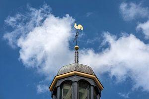 Het haantje van de kerk van Ter Kaple in Friesland.