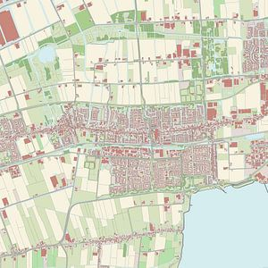 Kaart vanStede Broec