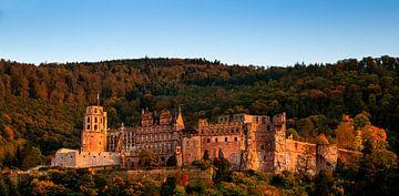Kasteel van Heidelberg, Duitsland van Adelheid Smitt