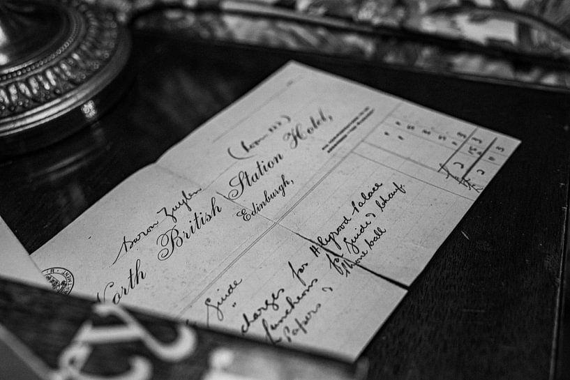 Brief aus Edinburg von Alwin van Wijngaarden