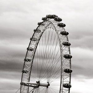 London Eye uitsnede van Klik! Images