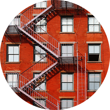 new york city ... fire escape van Meleah Fotografie