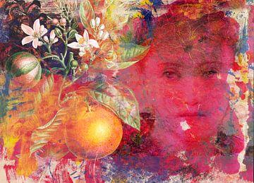 Het meisje met de sinaasappelboomtak van christine b-b müller