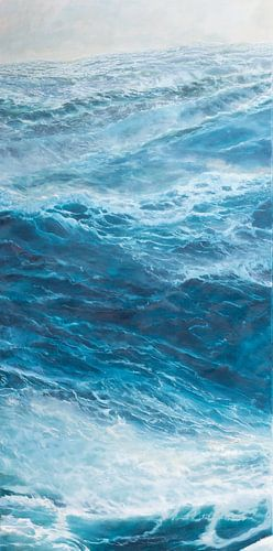 Triptychon der linken Tafel - Windstärke 10 auf dem Okan.