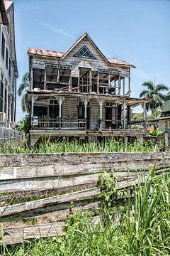 Sturz in Paramaribo von Michel Groen