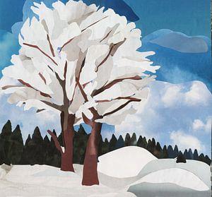 Winterland van Kirsten Wagenaar