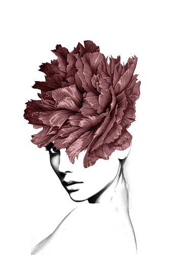Flower lady I van Dreamy Faces